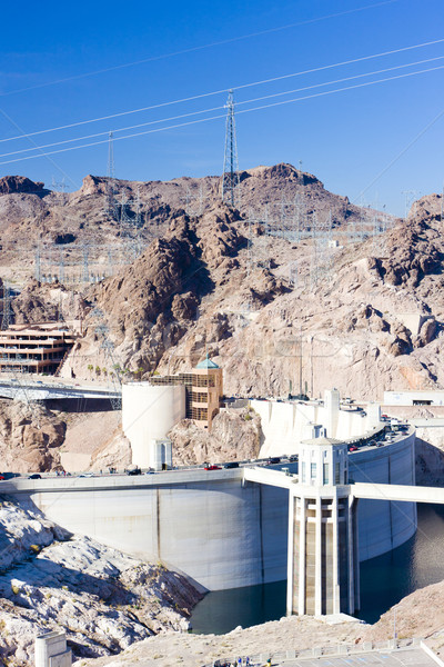 Hoover Dam, Arizona-Nevada, USA Stock photo © phbcz