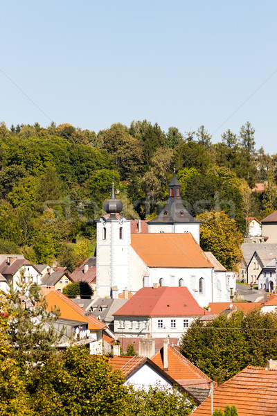 Velhartice, Czech Republic Stock photo © phbcz