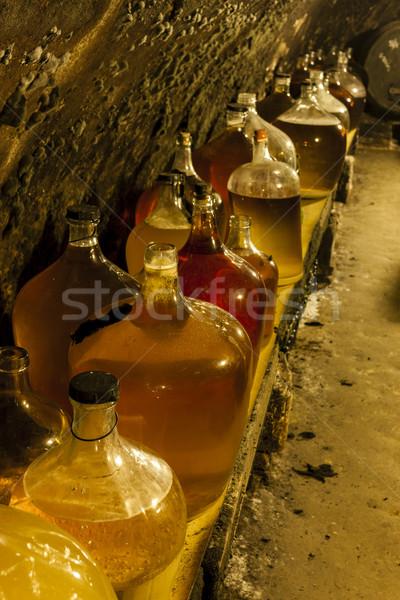 Stock photo: wine cellar, Czech Republic