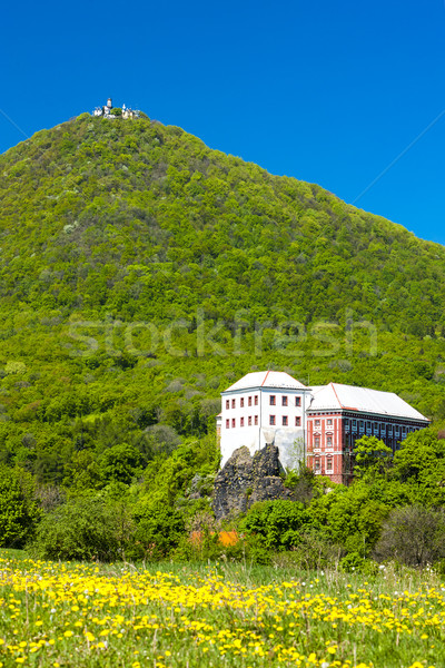 Milesov Palace and observatory on Milesovka, Ceske stredohori, C Stock photo © phbcz