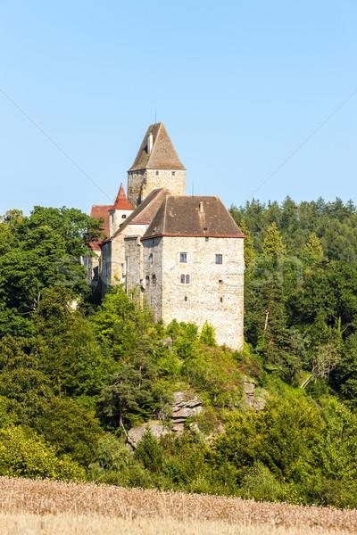 Castello abbassare Austria architettura Europa Foto d'archivio © phbcz