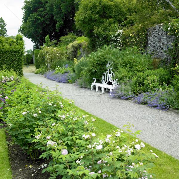 Birr Castle Gardens, County Offaly, Ireland Stock photo © phbcz