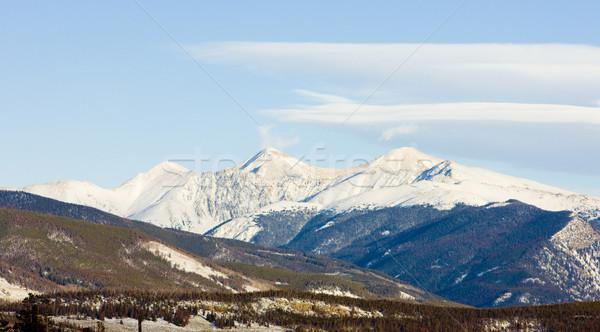 The Rockies Mountains near Frisco, Colorado, USA Stock photo © phbcz