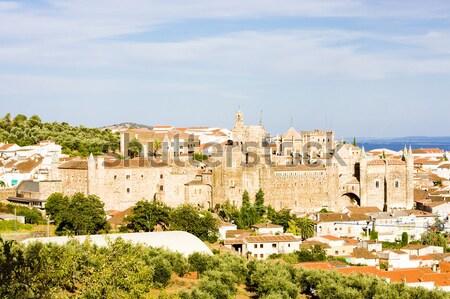 Olaszország épület utazás kastély történelem városkép Stock fotó © phbcz