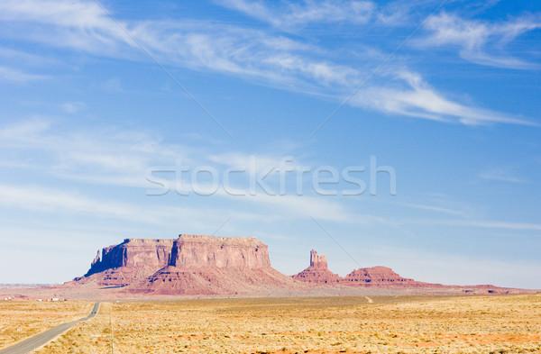 Vallei park Utah Arizona USA reizen Stockfoto © phbcz