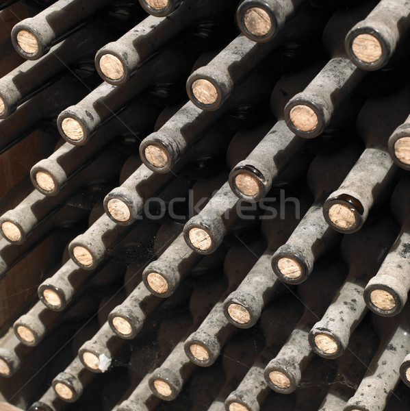 wine archive, wine cellar Sidleny, Livi Dubnany, Czech Republic Stock photo © phbcz