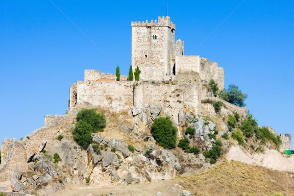 Alburquerque, Badajoz Province, Extremadura, Spain Stock photo © phbcz