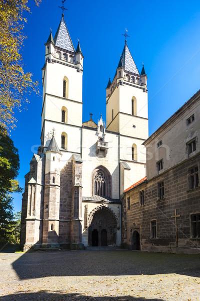 Chiesa monastero Slovacchia costruzione architettura Europa Foto d'archivio © phbcz