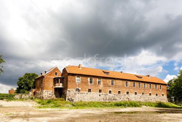 Szutm Castle, Pomerania, Poland Stock photo © phbcz