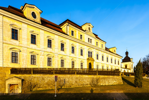 Palace of Rychnov nad Kneznou, Czech Republic Stock photo © phbcz