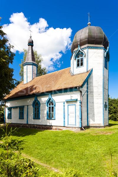 Russo ortodoxo igreja arquitetura torre ao ar livre Foto stock © phbcz