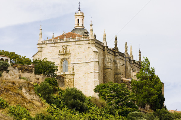 Cathedral of Coria, Caceres Province, Extremadura, Spain Stock photo © phbcz