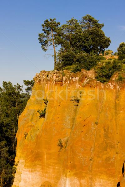 landscape near Roussillon, Provence, France Stock photo © phbcz