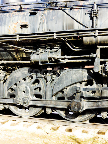 подробность Колорадо железная дорога музее США Сток-фото © phbcz