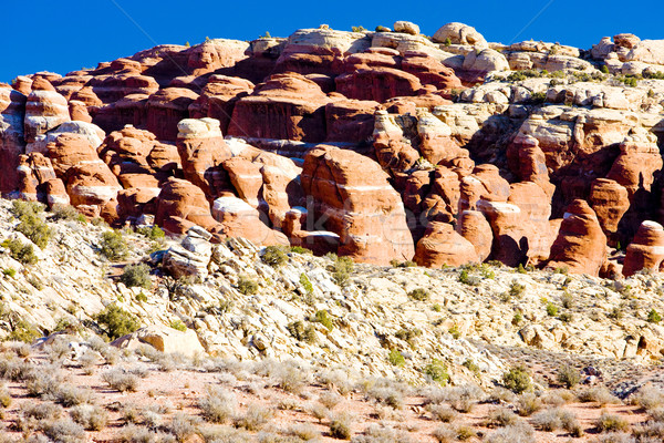 Park Utah USA landschap rotsen stilte Stockfoto © phbcz