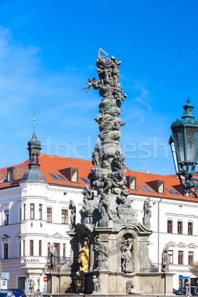 Ressel's Square, Chrudim, Czech Republic Stock photo © phbcz