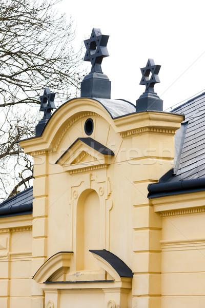 Synagoge Tsjechische Republiek kerk reizen architectuur geschiedenis Stockfoto © phbcz