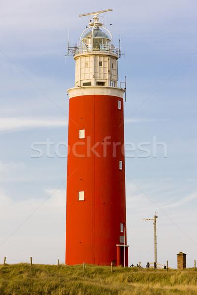lighthouse, De Cocksdorp, Texel Island, Netherlands Stock photo © phbcz