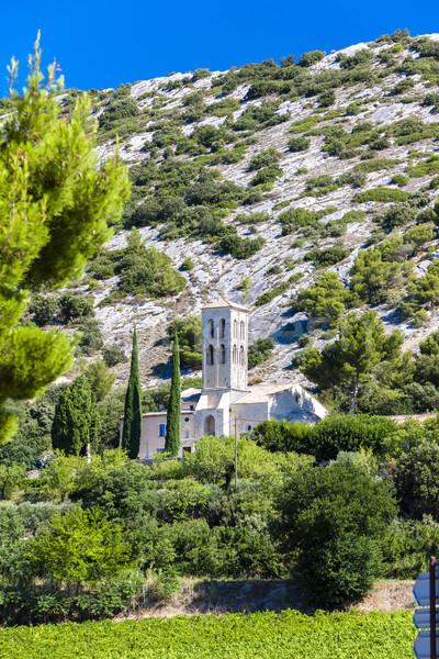 Kapel Frankrijk kerk architectuur geschiedenis buitenshuis Stockfoto © phbcz