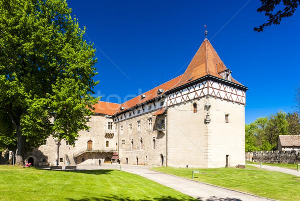Palácio República Checa castelo arquitetura ao ar livre fora Foto stock © phbcz