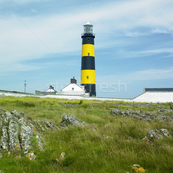 lighthouse, St. John's Point, County Down, Northern Ireland Stock photo © phbcz