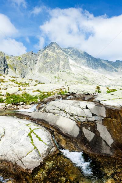 Small Cold Valley, Vysoke Tatry (High Tatras), Slovakia Stock photo © phbcz