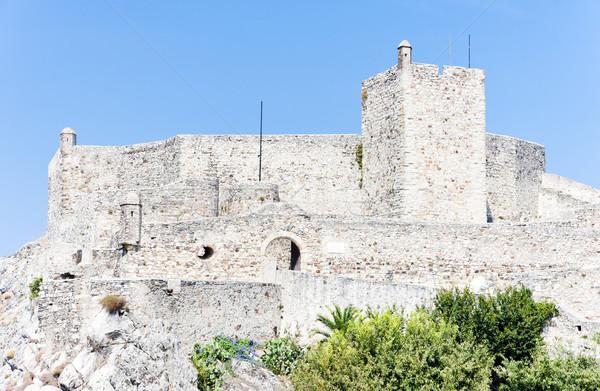 Castelo Portugal edifício viajar arquitetura história Foto stock © phbcz