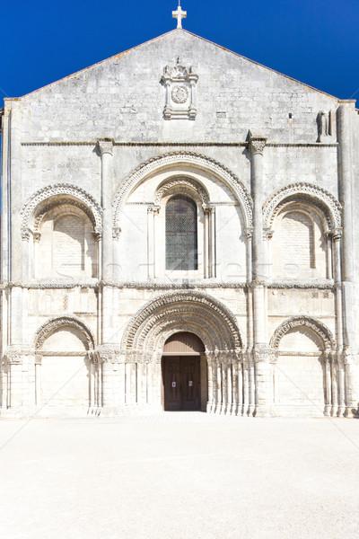 Aux Dame Abbey, Saintes, Poitou-Charentes, France Stock photo © phbcz