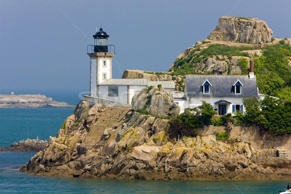 lighthouse, Pointe de Pen al Lann, Brittany, France Stock photo © phbcz