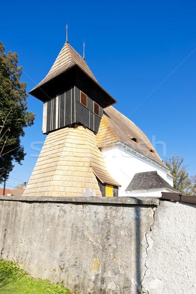 Igreja República Checa arquitetura europa ao ar livre Foto stock © phbcz