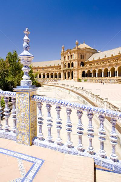 ストックフォト: スペイン語 · 広場 · スペイン · 建物 · アーキテクチャ · ゴシック
