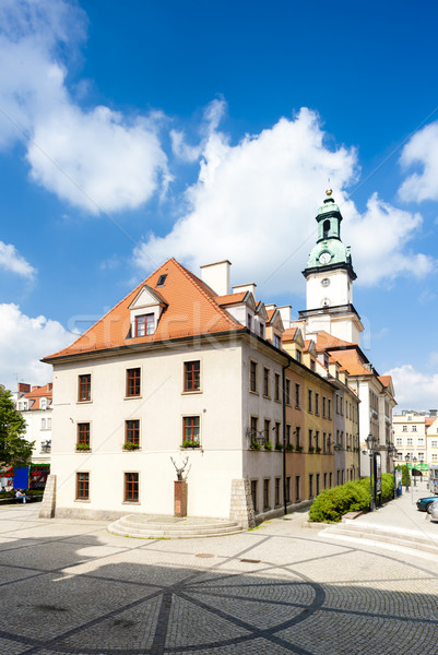 town hall of Jelenia Gora, Silesia, Poland Stock photo © phbcz