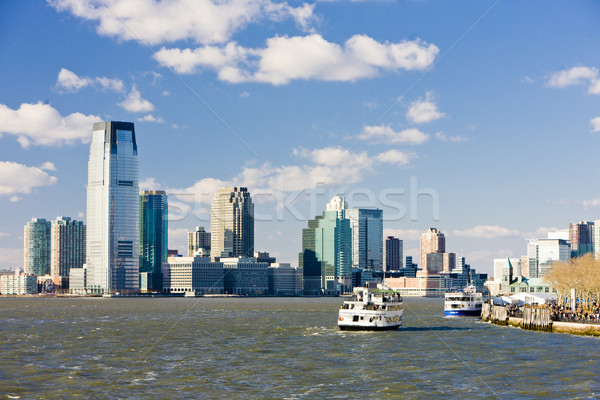 New York City New Jersey USA gebouw stad boot Stockfoto © phbcz