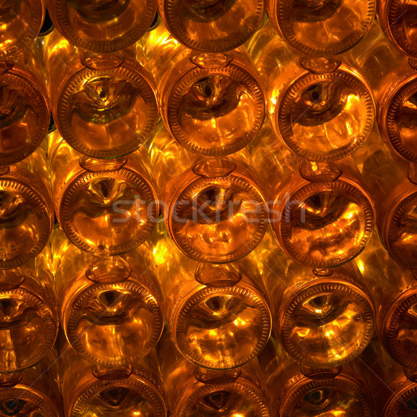 wine archive, wine cellar, Eko Hnizdo, Chvalovice, Czech Republi Stock photo © phbcz
