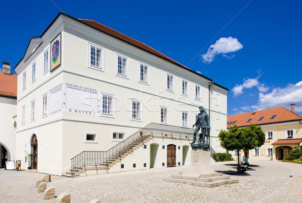 former town hall (now museum), Nove Mesto nad Metuji, Czech Repu Stock photo © phbcz