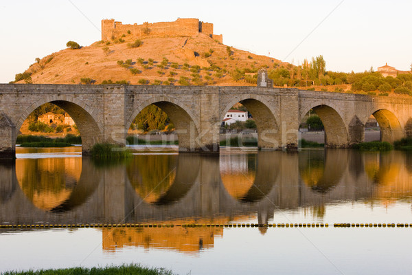 Spanien Reise Gebäude Architektur Brücken Freien Stock foto © phbcz