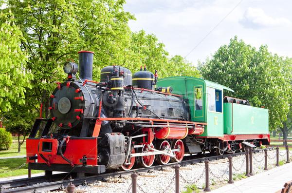 steam locomotive, Kostolac, Serbia Stock photo © phbcz