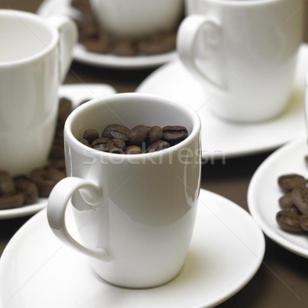 Zdjęcia stock: Fotele · żywności · kawy · pić · Kafejka