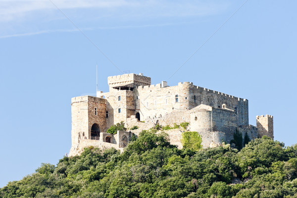 Saint-Martin Castle, Languedoc-Roussillon, France Stock photo © phbcz