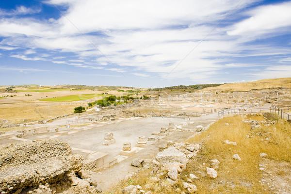 考古学的な 場所 歴史 遺跡 ローマ 屋外 ストックフォト © phbcz