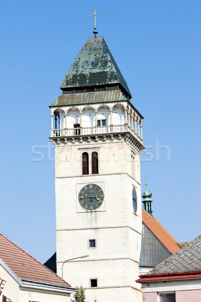 Photo stock: église · République · tchèque · bâtiment · architecture · ville · extérieur