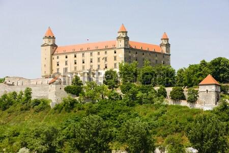 Palacio Polonia edificio viaje otono arquitectura Foto stock © phbcz