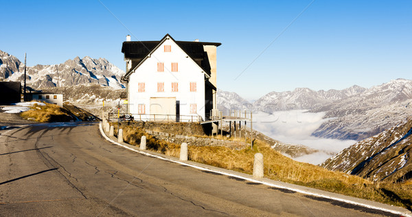 Furkapass, canton Graubunden, Switzerland Stock photo © phbcz