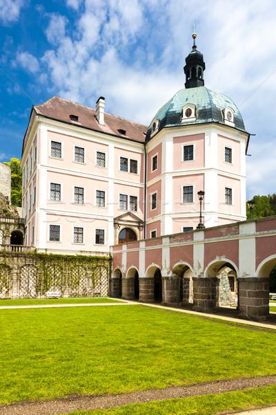 Palota Csehország utazás kastély építészet kint Stock fotó © phbcz