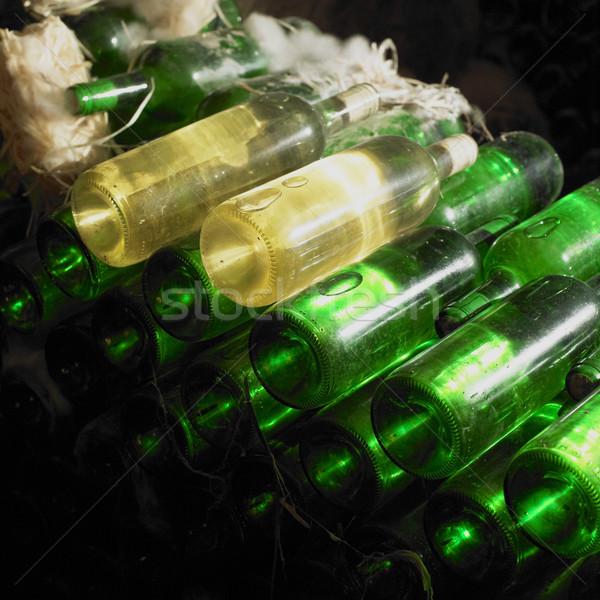 Borospince cseh Csehország bor italok alkohol Stock fotó © phbcz