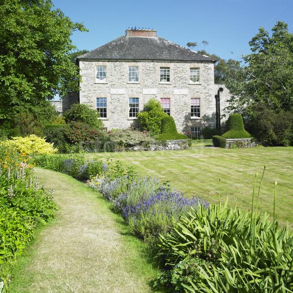 Kilmokea Gardens, County Wexford, Ireland Stock photo © phbcz