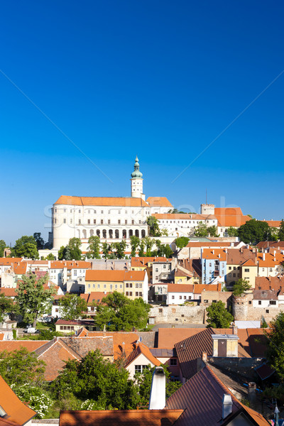 Mikulov, Czech Republic Stock photo © phbcz