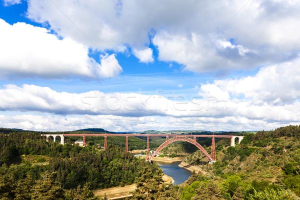 Département France bâtiment pont Voyage génie Photo stock © phbcz