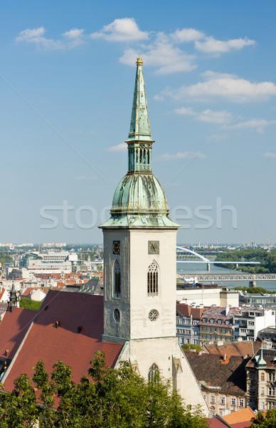 Сток-фото: собора · святой · Братислава · Словакия · город · Церкви