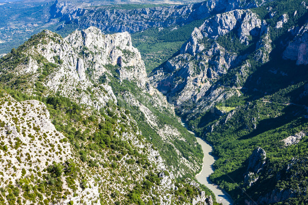 Verdon Gorge, Provence, France Stock photo © phbcz